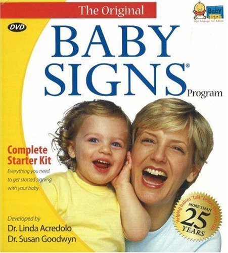 Baby Signs Complete Starter Kit - helped our baby learn to communicate months before talking