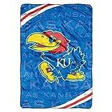 NCAA Kansas Jayhawks Throw Blanket - Large (62-inch x 90-inch)