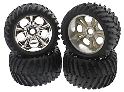 CEN Racing GST-E Brushless * GENESIS TIRES & 23mm CHROME WHEELS *