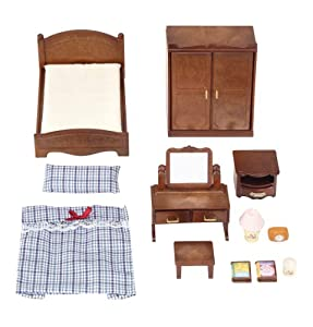 Sylvanian families 2958 master bedroom set toys games Master bedroom set sylvanian