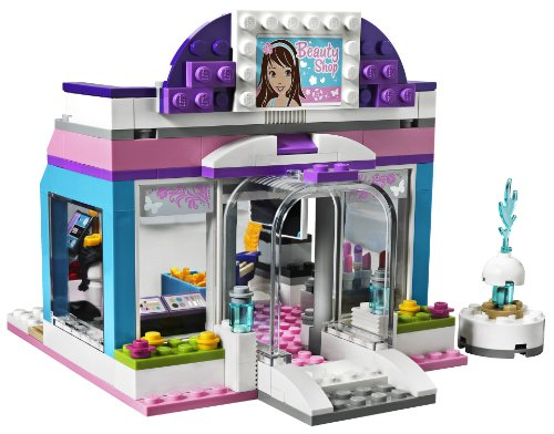 Lego friends beauty salon 3187 ebay for Lego friends salon de coiffure