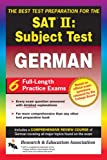 img - for SAT II Subject Test: German -- The Best Test Preparation for the SAT II (Test Preps) book / textbook / text book