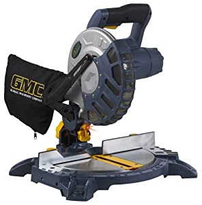 GMC AMS814LS 10.5 Amp 8-1/4-Inch Compound Miter saw with Laser