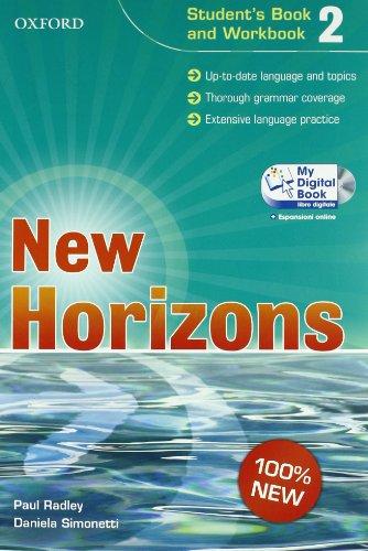 New horizons. Starter-Student's book-Workbook-My digital book. Con espansione online. Per le Scuole superiori. Con CD-ROM: 2