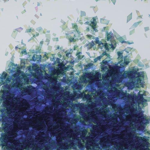 乱切オーロラV #697 ブルー 1g