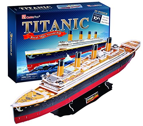 Cubic Fun Titanic(large), 113 pieces (Titanic Model compare prices)