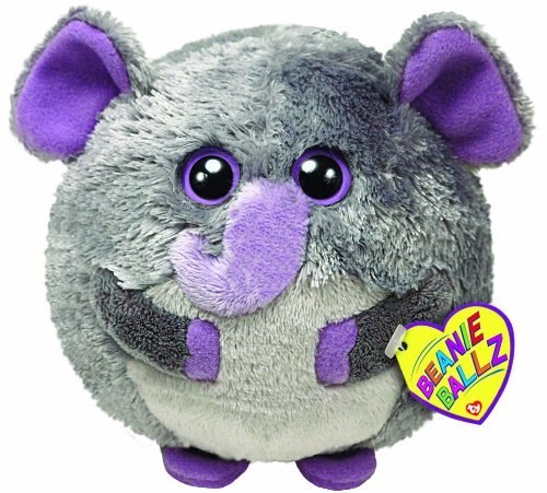 Ty Beanie Ballz - Thunder the Elephant