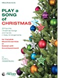 Play A Song Of Christmas - 35 Favorite Christmas Songs and Carols In Easy Arrangements (Viola 1 and 2 book)
