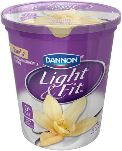 Light and Fit Quarts Vanilla Greek Nonfat Yogurt, 32 Ounce -- 6 per case. (Greek Yogurt Vanilla compare prices)