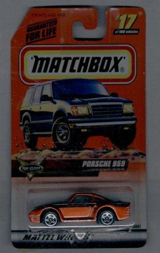 Matchbox 1998-17 of 100 Series 4 TOP Class Porsche 959 1:64 Scale - 1