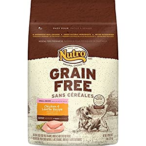 NUTRO Grain Free Small Breed Chicken & Lentils Recipe Dry Dog Food 4 Pounds