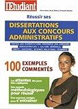 echange, troc Pierre Gévart, Bruno Modica, Christophe Mondou - Réussir ses dissertations aux concours administratifs