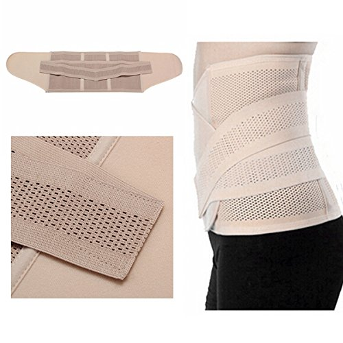 DCDEAL Girdle Postpartum Belly Abdomen Waist Recovery Binding Belt Band Tummy Slimming Wrap Corset Cummerbund for Women (Binding Belt compare prices)