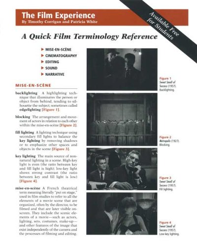 A Quick Film Terminology Reference Card