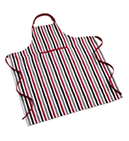 Bold Striped Apron