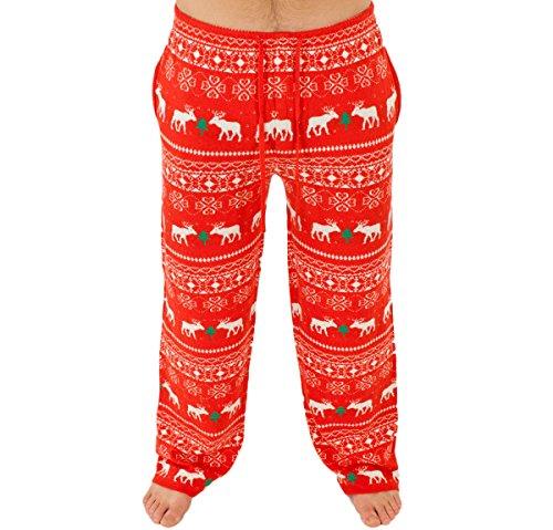 Reindeer Holiday Sweater Pants