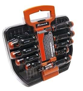homak ht06800860 86 piece screwdriver set with holder hand tool sets. Black Bedroom Furniture Sets. Home Design Ideas