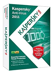 Kaspersky Anti-Virus 2011 1-User [Old Version]