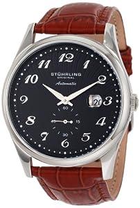 Stuhrling Original Men's 171A.3315E1 Classic Cuvette 44 Slim Automatic Date Watch