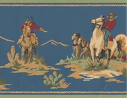 Western wallpaper border