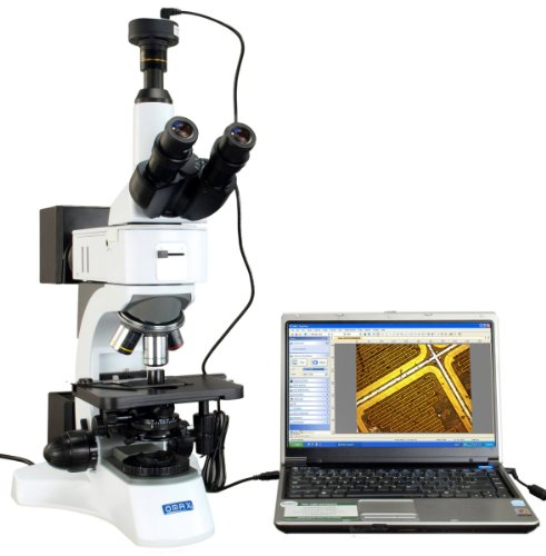 Omax Metallurgical Infinity Polarizing Darkfield Microscope 50X-1500X+9.0Mp Usb Camera