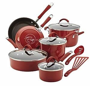 Amazon.com: Rachael Ray Cucina 12 Piece Cookware Set Ii: Kitchen