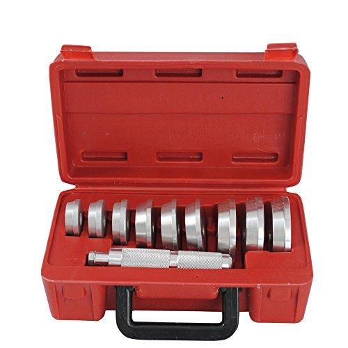 Alu-Druckstcksatz-Druckstcke-fr-Werkstattpresse-Lager-Buchsen-Simmerring-Austreiber-Eintreiber-Treibsatz-10-tlg