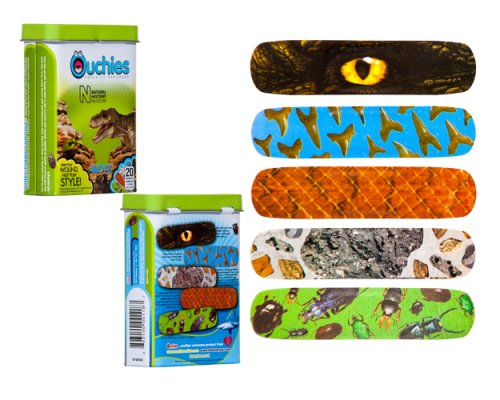 Ouchies Natural History Museum Adhesive Bandages