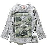 (ディーティー) DT キッズ M1-3 ボーイズ 20柄から選べる♪お肌にやさしい綿100% プリント 長袖 Tシャツ ロゴ パロディ ストリート スポーツ アメカジ フェイク ロンT160 016