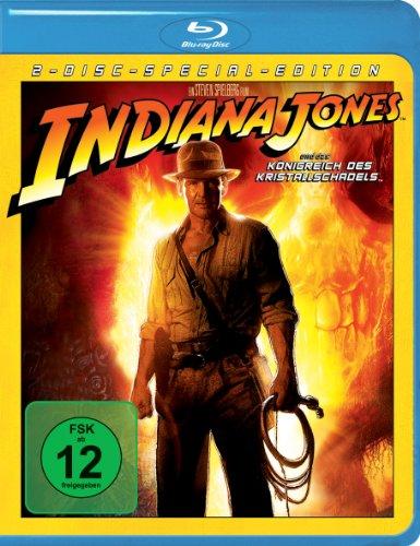Indiana Jones und das Königreich des Kristallschädels (2 Discs) [Blu-ray]