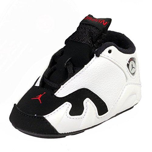 Nike Infant/Toddler Jordan 14 Retro Gift Pack Crib shoes #679863-112 (1C)