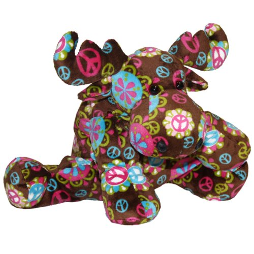 Mary Meyer New Arrivals Print Pizzazz Assortment Of Baby Toys (Peace Moose) front-947445
