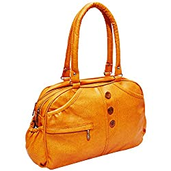 Frenchxd Amy Stevens Handbag For Women (Yellow)