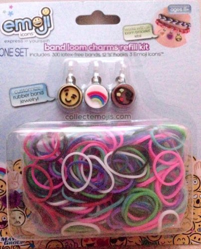 Emoji Icon Band Loom Refill Kit