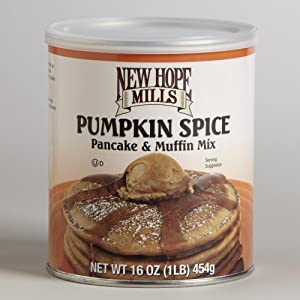 New Hope Mills Pumpkin Spice Pancake Mix 16 oz.(Pack of 2)