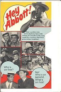 Hey Abbott [VHS]