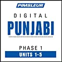 Punjabi Phase 1, Unit 01-05: Learn to Speak and Understand Punjabi with Pimsleur Language Programs  by Pimsleur