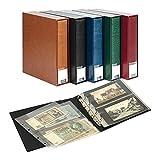 PUBLICA M �lbum para colecciones [Lindner 3532BN], para hasta 80 notas de, banco / tarjetas postales - Color: negro
