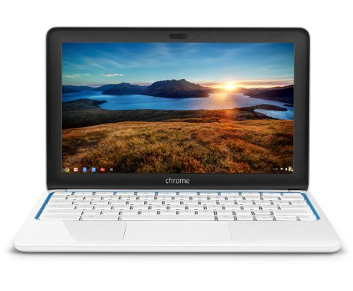 Fantastic Deal! HP Chromebook 11-1101 (White/Blue)