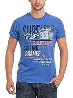 JACK WILLIAMS Camiseta Manga Corta (Azul)