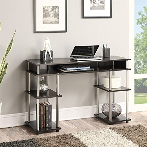 Convenience Concepts No Tools Student Desk, Espresso (Espresso Desk Small compare prices)