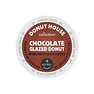 Donut House Collection Coffee, Chocolate Glazed Donut