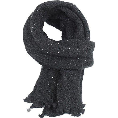 nero-giardini-sciarpa-donna-con-paillettes-a669251d-one-size-nero
