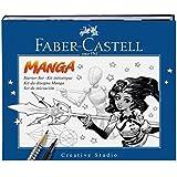 Faber-Castell 167136 - Pitt artist pen Manga Starter Set