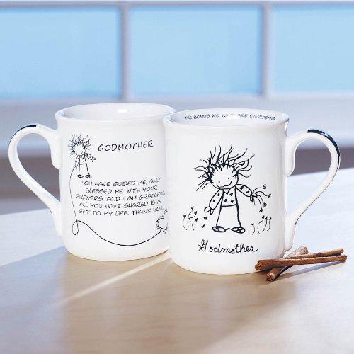 Enesco Children Of The Inner Light Godmother Mug, 4-1/2-Inch front-1015435