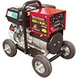 Powerland PDW100 600 Watt 6.5 HP OHV 4-Stroke Gas Powered Portable Generator/100 Amp Welder Combo