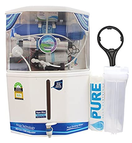 Aquaultra Supreme 18Litre 10 Stage RO, UV, UF, TDS Water Purifier
