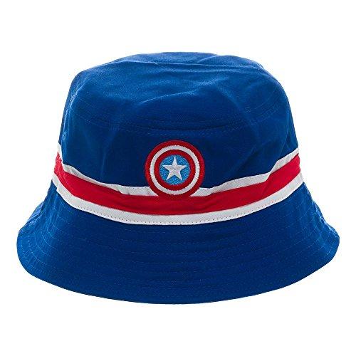 Captain America Reversible Bucket Hat (Captain America Bucket Hat compare prices)