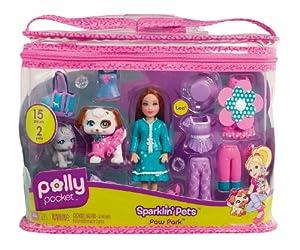 Amazon.com: Polly Pocket Totally Trendy Pets Snow Very