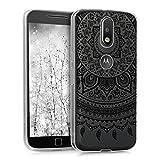 kwmobile Crystal Case Hülle für Motorola Moto G4 / Moto